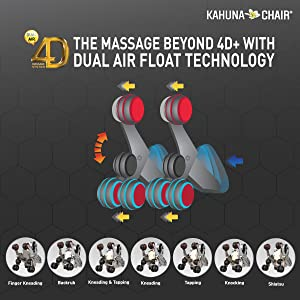 The Massage Beyond 4D+ with Dual Air Float Technology